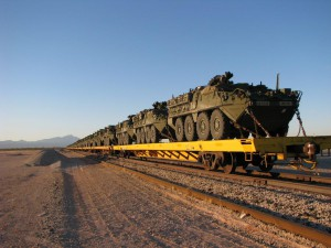 Military Trains