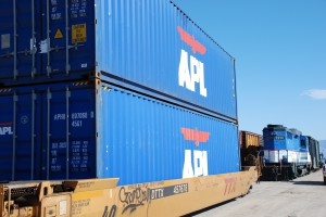 International Containers at the Port of Tucson
